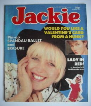 Jackie magazine - 7 February 1987 (Issue 1205)