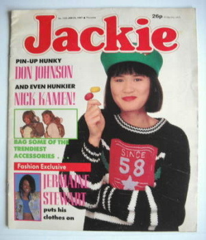 Jackie magazine - 24 January 1987 (Issue 1203)