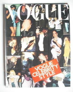 British Vogue supplement - Vogue Celebrity Style (2001)