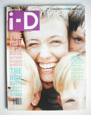 <!--1987-10-->i-D magazine - Alice Walpole and brothers cover (October 1987
