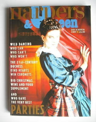 <!--1987-12-->British Harpers & Queen magazine - December 1987