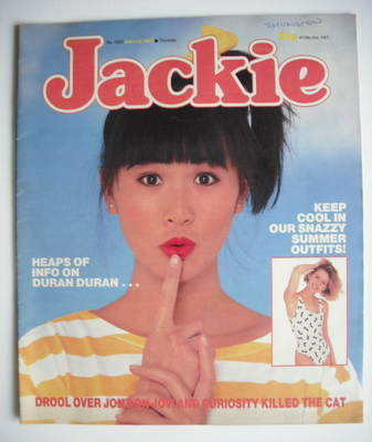 <!--1987-06-13-->Jackie magazine - 13 June 1987 (Issue 1223)