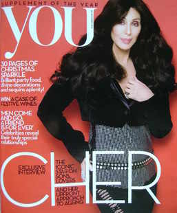 <!--2010-11-28-->You magazine - Cher cover (28 November 2010)