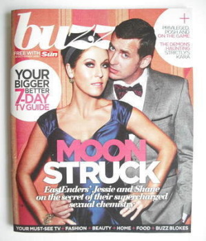 Buzz magazine - Jessie Wallace and Shane Richie cover (30 October - 5 November 2010)