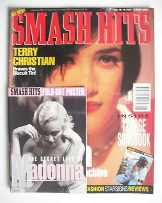 <!--1992-02-19-->Smash Hits magazine - Martika cover (19 February - 3 March