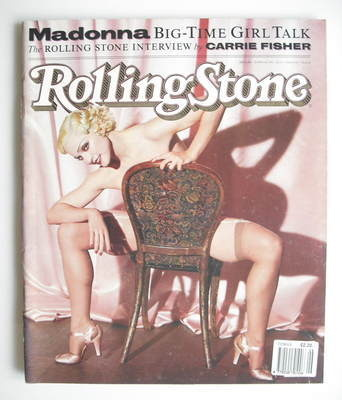 Rolling Stone magazine - Madonna cover (13 June 1991 - Issue 606)