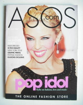 asos magazine - May 2007 - Kylie Minogue cover