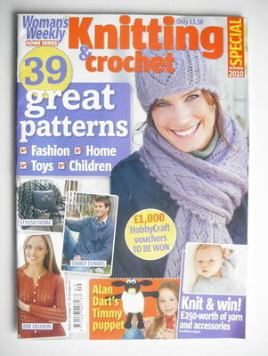 <!--2010-09-->Woman's Weekly magazine - Knitting and Crochet Special (Autum