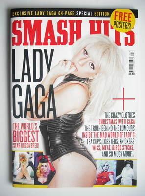 <!--2010-09-->Smash Hits magazine - Lady Gaga cover (Autumn 2010)
