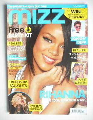 MIZZ magazine - Rihanna cover (15-28 November 2007)