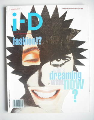 <!--1988-04-->i-D magazine - Who's Dreaming What Now cover (April 1988 - Is