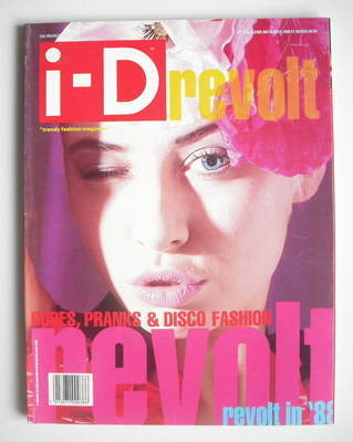 <!--1988-05-->i-D magazine - Wendy James cover (May 1988 - Issue 58)