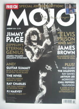 MOJO magazine - Jimmy Page cover (August 2004 - Issue 129)