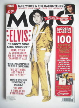 MOJO magazine - Elvis Presley cover (May 2006 - Issue 150)