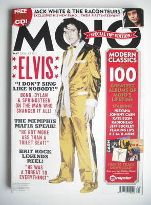 <!--2006-05-->MOJO magazine - Elvis Presley cover (May 2006 - Issue 150)