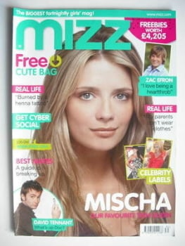 MIZZ magazine - Mischa Barton cover (26 July - 8 August 2007)