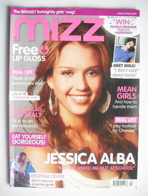 MIZZ magazine - Jessica Alba cover (14-27 June 2007)