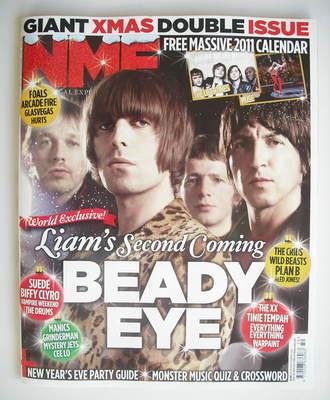 <!--2010-12-18-->NME Magazine - Beady Eye cover (18 December 2010)