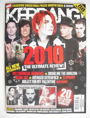 <!--2010-12-18-->Kerrang magazine - The Ultimate Review (18 December 2010 -