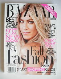 <!--2010-09-->US Harper's Bazaar magazine - September 2010 - Jennifer Anist