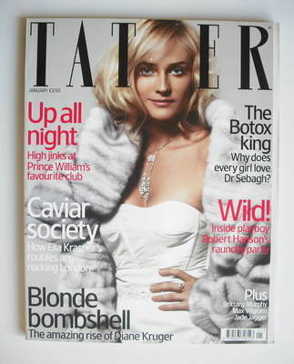 <!--2006-01-->Tatler magazine - January 2006 - Diane Kruger cover