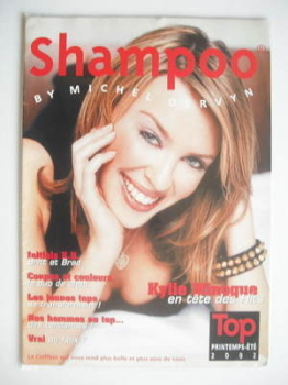 Shampoo magazine supplement - Kylie Minogue cover (2002)