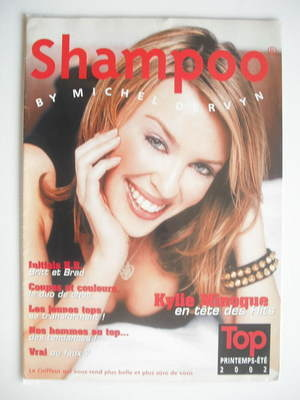 Shampoo magazine supplement - Kylie Minogue cover (2002)