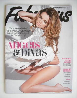 <!--2010-10-24-->Fabulous magazine - Nadine Coyle cover (24 October 2010)