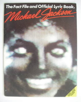 Michael Jackson magazine - The Fact File and Official Lyric Book (1984)