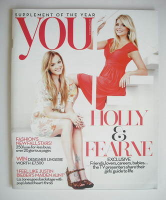 <!--2010-09-26-->You magazine - Holly Willoughby and Fern Cotton cover (26