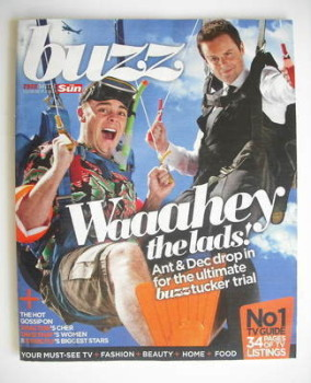 Buzz magazine - Ant McPartlin and Declan Donnelly cover (13 November 2010)