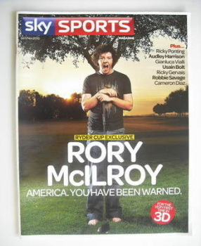 Sky Sports magazine - October/November 2010 - Rory McIlroy cover
