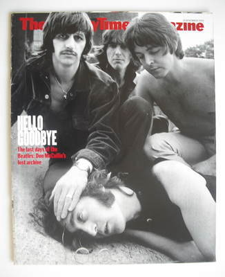 <!--1999-11-14-->The Sunday Times magazine - The Beatles cover (14 November