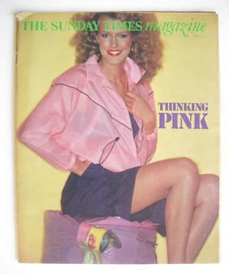 <!--1977-04-24-->The Sunday Times magazine - Thinking Pink cover (24 April