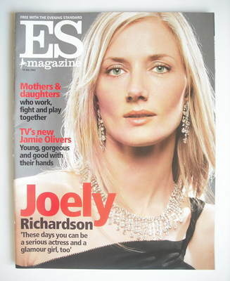 <!--2002-07-19-->Evening Standard magazine - Joely Richardson cover (19 Jul