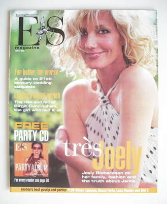 <!--2003-05-16-->Evening Standard magazine - Joely Richardson cover (16 May