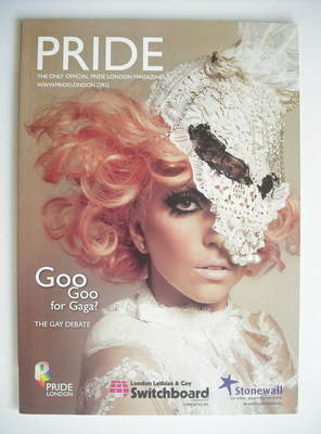 Pride magazine - Lady Gaga cover (2010)