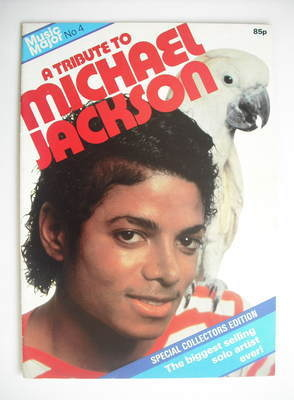 A Tribute To Michael Jackson magazine (1984 publication - No 4)