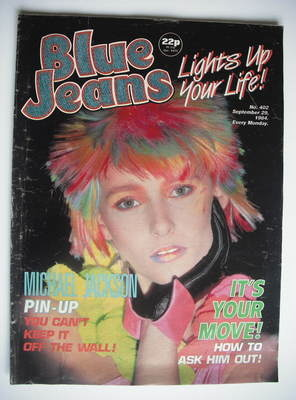Blue Jeans magazine (29 September 1984 - Issue 402)