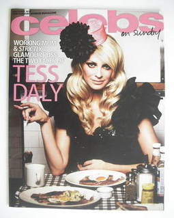 <!--2010-10-03-->Celebs magazine - Tess Daly cover (3 October 2010)