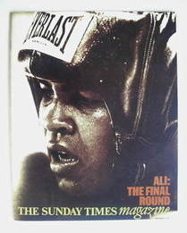 <!--1974-09-08-->The Sunday Times magazine - Muhammad Ali cover (8 Septembe