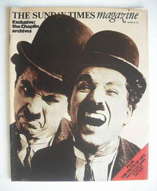<!--1974-10-20-->The Sunday Times magazine - Charlie Chaplin cover (20 Octo
