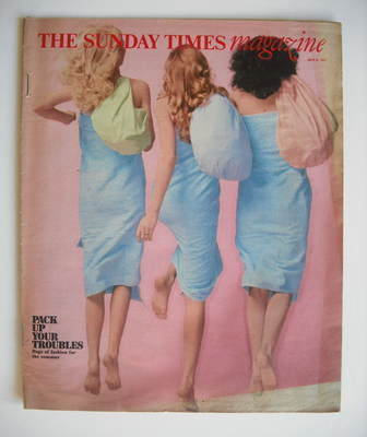 <!--1977-07-31-->The Sunday Times magazine - Pack Up Your Troubles cover (3