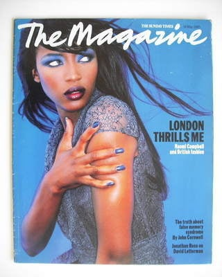 <!--1995-05-14-->The Sunday Times magazine - Naomi Campbell cover (14 May 1