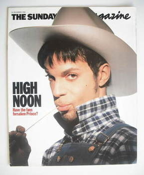 <!--1996-12-22-->The Sunday Times magazine - Prince cover (22 December 1996