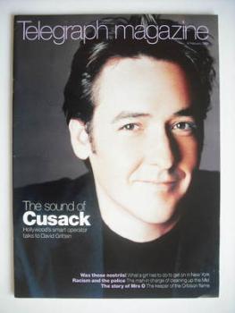 Telegraph magazine - John Cusack cover (6 February 1999)