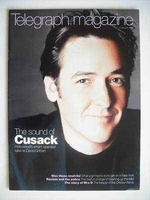 <!--1999-02-06-->Telegraph magazine - John Cusack cover (6 February 1999)
