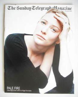 The Sunday Telegraph magazine - Cate Blanchett cover (20 January 2002)