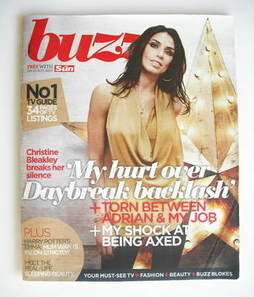 Buzz magazine - Christine Bleakley cover (20 November 2010)