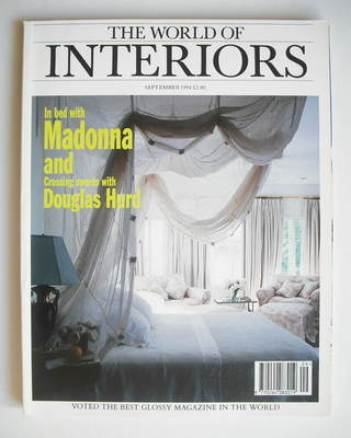 The World Of Interiors magazine - September 1994